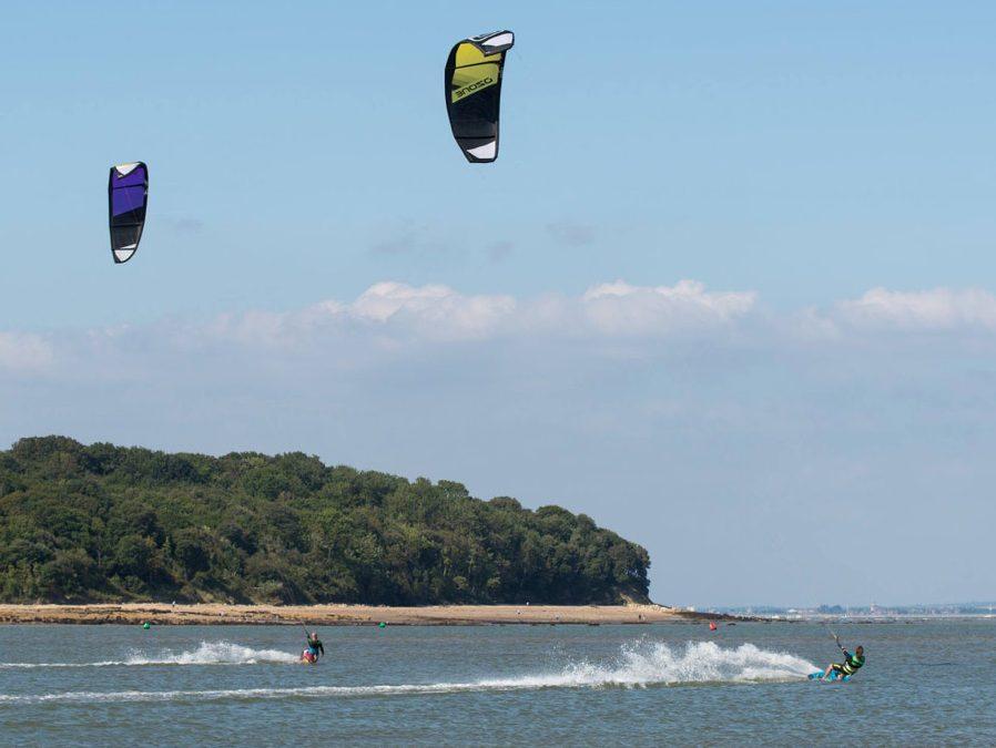 kitesurf kiting kite surf iow Bembride