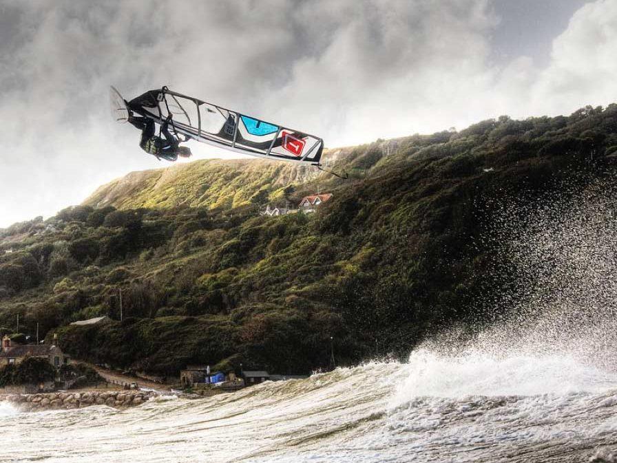 South coast Niton Ventnor windsurf isle of wight ross williams John carter