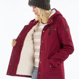 Billabong womens faciliti jacket bordeaux