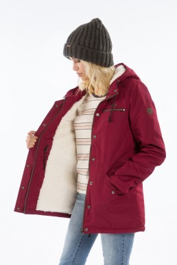 Billabong womens faciliti jacket bordeaux