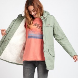 Billabong womens faciliti jacket treetop