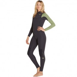 Billabong Furnace Carbon Comp 5/4 CZ Black Sands womens wetsuits