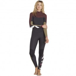Billabong Salty Dayz 5/4 Chest Zip Mulberry womens wetsuit