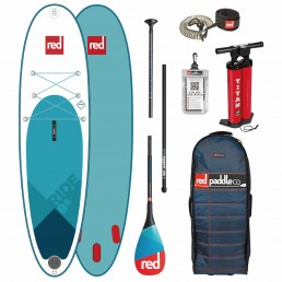 Red Paddle Co SUP Inflatable Ride Stand Up Paddle Board Boarding IOW