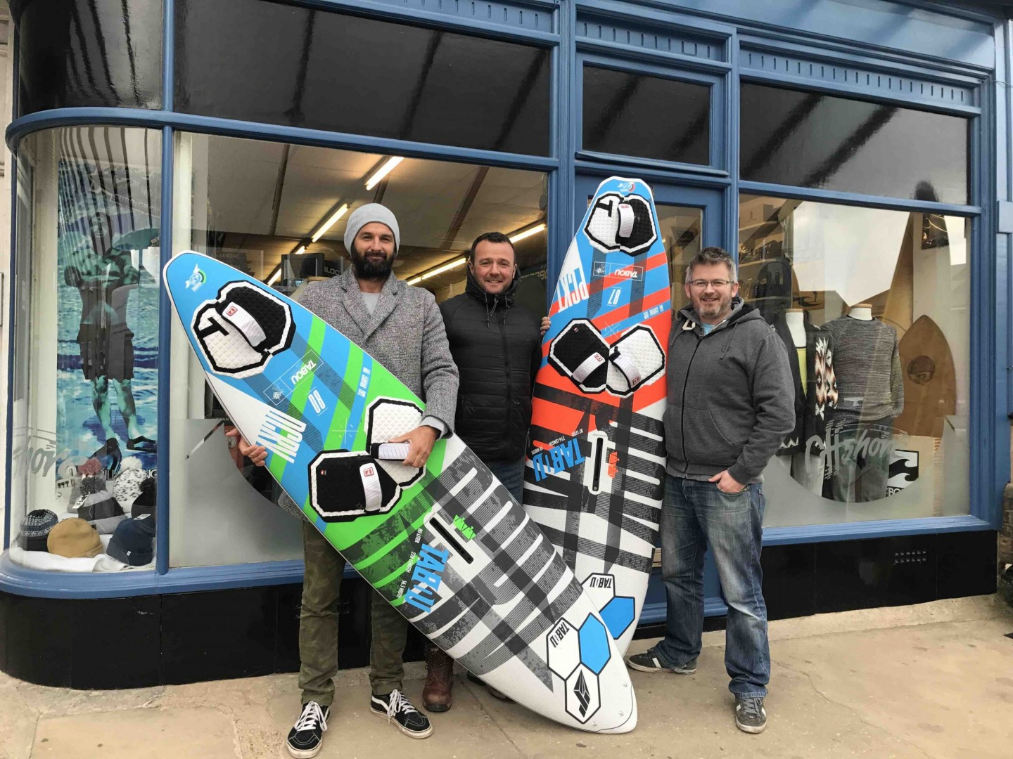 Ross Williams Scott Gardner Aaran Williams Earth Wind Water Surf Shop