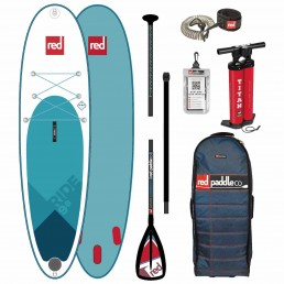 Red Paddle Co 9'8 ride Alloy SUP Inflatable Stand Up Paddle Board
