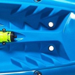 Tootega Pulse 85 Hydrolite foot rests