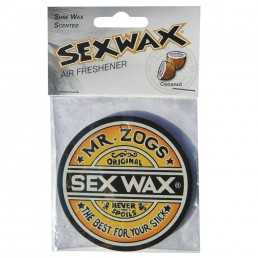 Sex Wax Air Fresheners Mr Zogs Coconut Strawberry Grape Pineapple