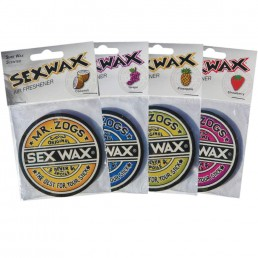 Sex Wax air fresheners. Coconut Strawberry Grape Pineapple at Earth Wind Water. Perfect for car or home. Gift ideas for surfers