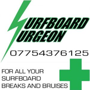 Surfboard Surgeon Surf Ding Repair IOW Isle of Wight