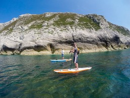 SUP Freshwater Bay Paddle co caves isle of wight