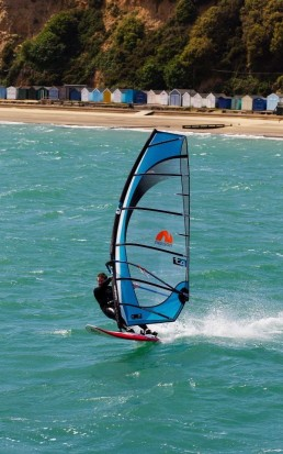 windsurfing sandown south coast