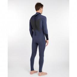 Billabong 2018 Absolute Comp Flatlock 3/2mm Summer Back Zip wetsuit Slate