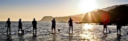 SUP isle of wight surf Ventnor hire paddle boarding