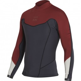Billabong Absolute flatlock Jacket Biking red