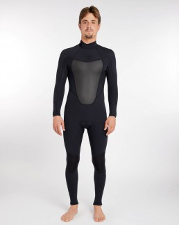 Billabong Absolute Back Zip 3/2mm Black