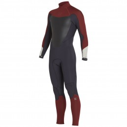 Billabong Absolute Back Zip 3/2mm Biking Red
