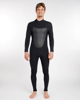 Billabong Absolute 32 back zip wetsuit black
