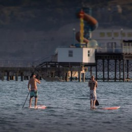 sandown pier isle of wight iow things to do sup