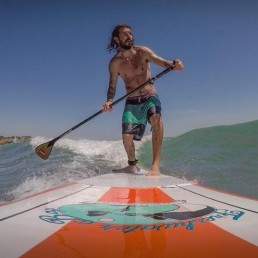 Freshwater bay paddle board surf isle of wight iow