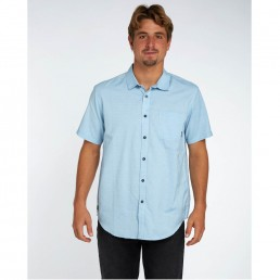 billabong shirt smart casual grey woven texture night out wedding surf surfing sale