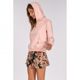 Billabong girls womens hoodie cropped long pink cute summer light weight sale