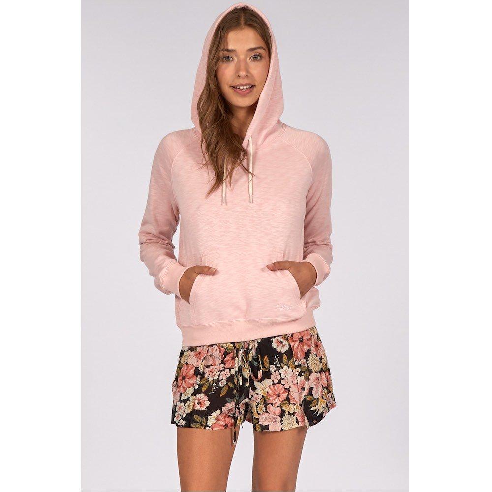 Billabong girls womens hoodie cropped long pink cute summer light weight sale