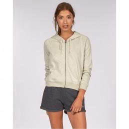 Billabong girls womens zip hoodie cropped long green mineral sage mint water cool cute summer light weight sale