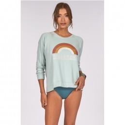 Billabong jumper sweater sweatshirt laguna rainbow blue surf surfer girl sale womens