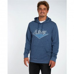 billabong hood hoody hoodie hooded jumper sweatshirt sweater blue grey