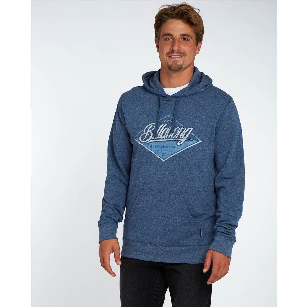 billabong hood hoody hoodie hooded jumper sweatshirt sweater blue grey