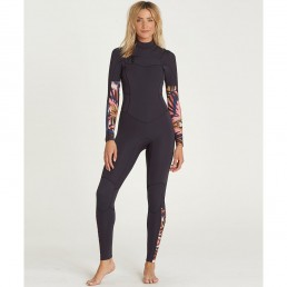 billabong tribal Ladies womens girls winter wetsuit surf surfing 5/4 5 4mm