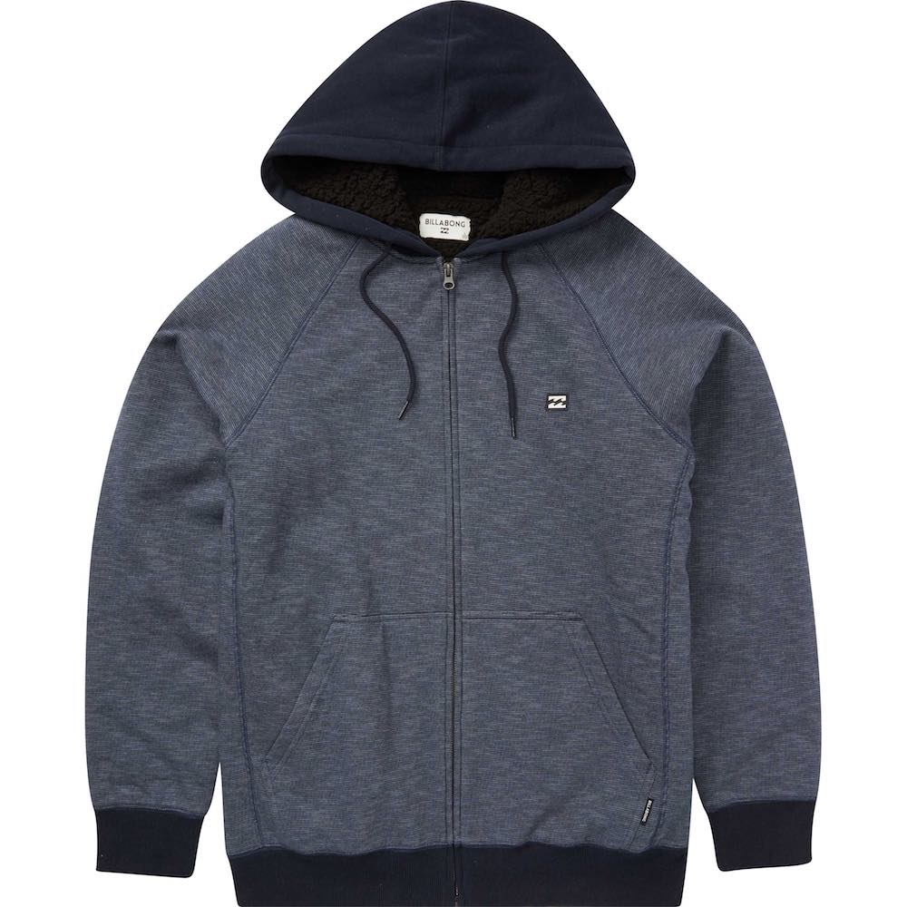 Black Friday sale Bong billabong hood hoodie hoody jumper zip up blue black new winter