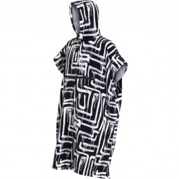 Billabong Hooded Towel Robe Poncho Changing Quick Warm Black White Blue Camo Winter Christmas Birthday gift present