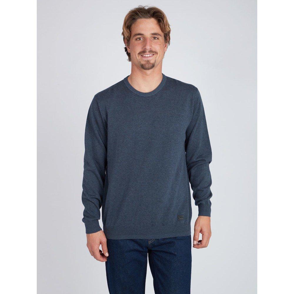 Black Friday sale Billabong sweater jumper sweatshirt crew blue grey navy