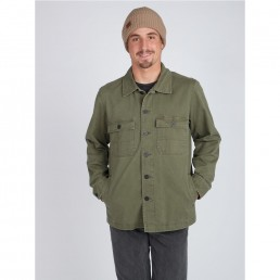 Black Friday sale Billabong jacket shirt army military green winter new sale