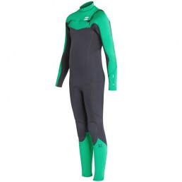 Kids Junior Boys Girls winter wetsuit warm 5/4 5/4/3 543 54 5mm chest zip billabong ripcurl c-skins Roxy