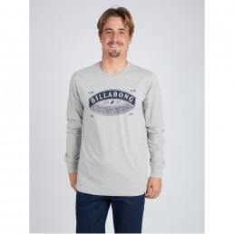 Black Friday sale long sleeve sleeved tee t-shirt t-shirt top grey new billabong winter sale