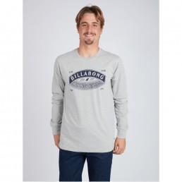 Black Friday sale long sleeve sleeved tee t-shirt t-shirt top grey new billabong winter sale