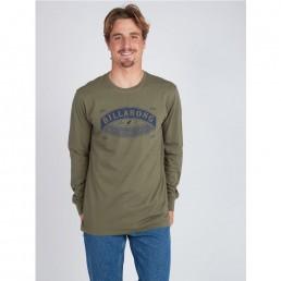 Black Friday sale long sleeve sleeved tee t-shirt t-shirt top green military army new billabong winter sale