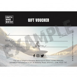 gift voucher earth wind water present perfect surf surfer sup gloves boots hood leash wax Christmas sale discount Black Friday birthday present easter valentines leaving maternity paternity shore boardshop surfdome billabong surfboard wetsuit Ann's cottege