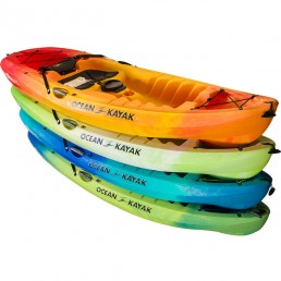 ocean kayak stackable frenzy Malibu 9.5 two single surf