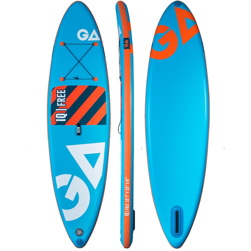 GA SUP isup stand up paddle board iq free inflatable blue orange all rounder touring learning isle of wight delivery best deal cool surf holiday adventure south coast england uk