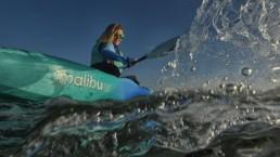 Ocean Kayak ok sea beach holiday adventure blue green seaglass ahi sunrise isle of wight iow earth wind water shanklin sandown malibu frenzy scrambler