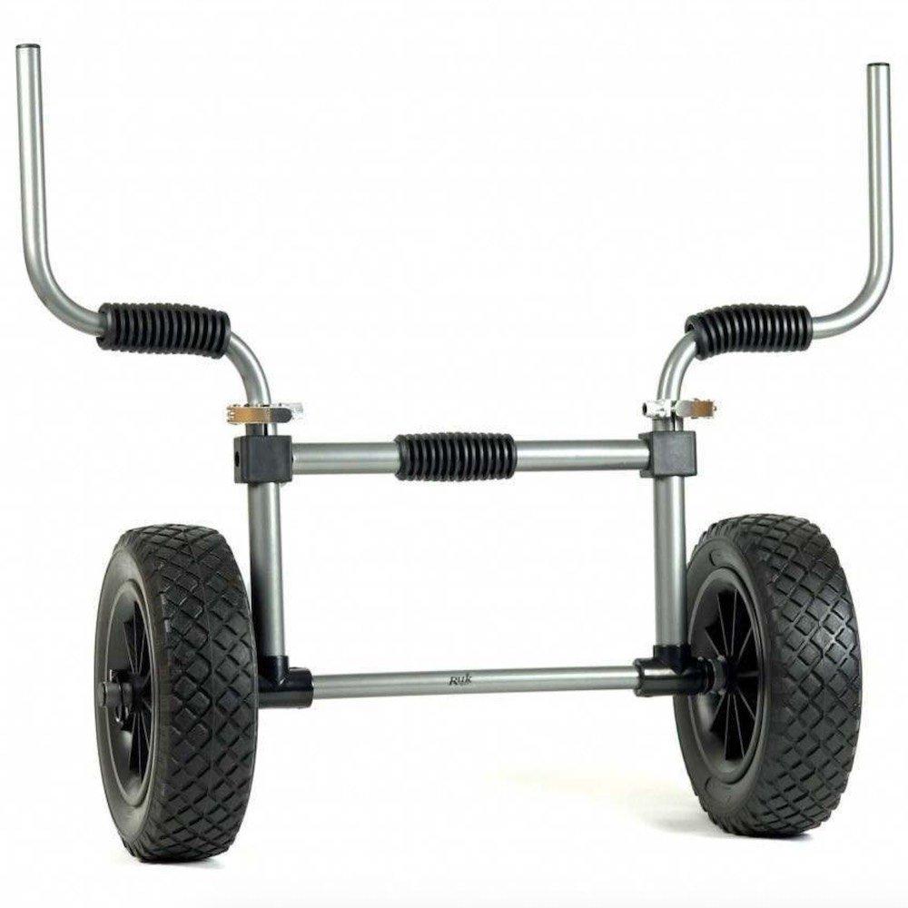 kayak trolley trolly sand rat inflatable tyres wheels isle of wight iow kayak club