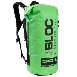 bloc adventure gear dry bag rucksack backpack back pack roll down roll-top waterproof sup kayaking kayak stand up paddle boarding eyewear sunglasses accessories present gift watersports phone case 30l 25l 20l 15l 10l 5l litres iow isle of wight surf shop