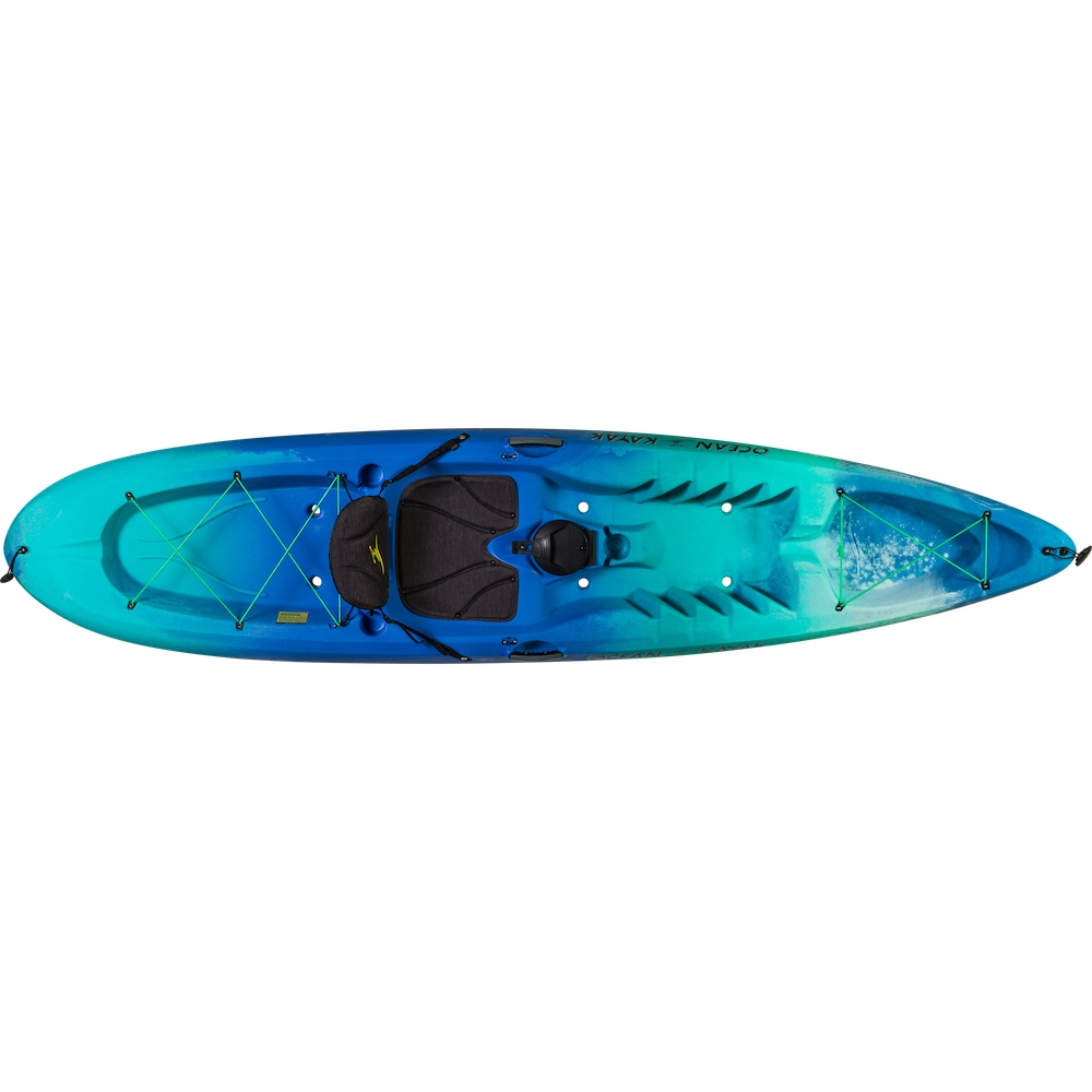 blue green Tandem single double kayak uk England family holiday camping seaside fun surf coast red funnel visit isle of wight paddles adventure activities earth wind water surf tackt-isle shop package deal cornwall bournemouth canoes