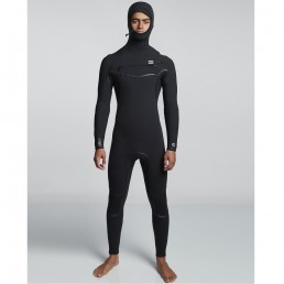 Billabong winter wetsuit hood hooded graphene + furnace carbon ultra 6mm 5/4 7mm medium large tall isle of wight uk south cost surfing