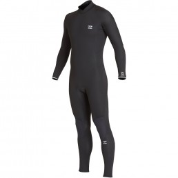 Billabong Fall 2019 Winter 2020 Furnace Absolute Back Zip GBS Black Wetsuit mens kids juniors groms cold water performance surf uk isle of wight