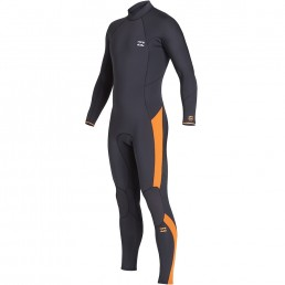 Billabong Fall 2019 Winter 2020 Furnace Absolute Back Zip GBS Black Sands Wetsuit cold water performance surf uk isle of wight